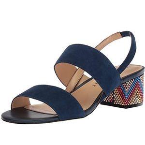 Katy Perry Women's Blue The Annalie Heeled Sandal